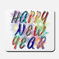 Happy New Year Works Mousepad