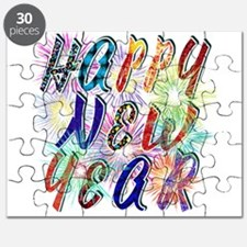 Happy New Year Works Puzzle