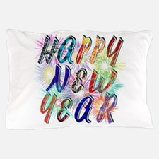 Happy New Year Works Pillow Case