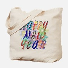 Happy New Year Works Tote Bag