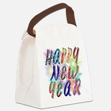 Happy New Year Works Canvas Lunch Bag