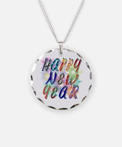 Happy New Year Works Necklace