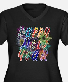 Happy New Year Works Plus Size T-Shirt