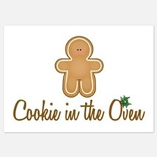 Cookie In Oven Invitations