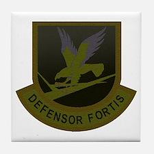 Subdued Defensor Fortis Tile Coaster