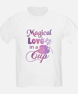 Magical Love in a Cup (coffee) T-Shirt