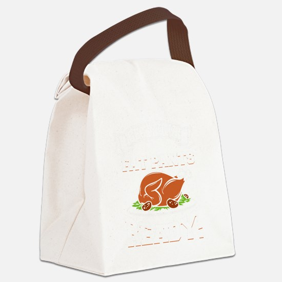 Funny Get ready Canvas Lunch Bag