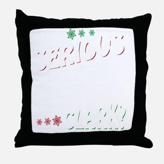 Cool Christmas theme Throw Pillow