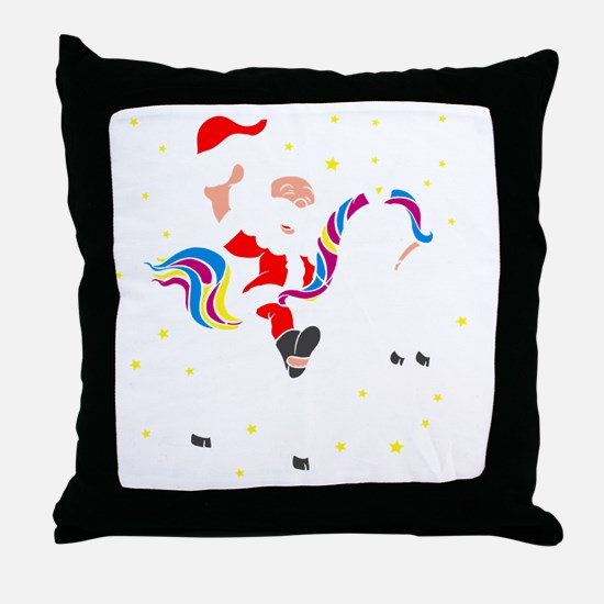 Funny Christmas theme Throw Pillow