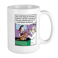 Cat Owner Medicine Mug