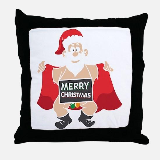 Unique Christmas theme Throw Pillow