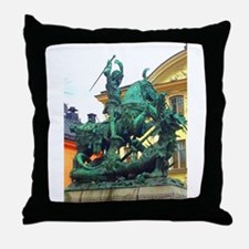 History's Warrior Throw Pillow