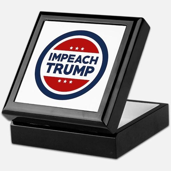 IMPEACH TRUMP Keepsake Box