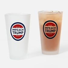 IMPEACH TRUMP Drinking Glass