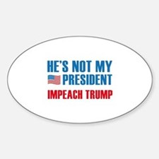 Not My President Decal