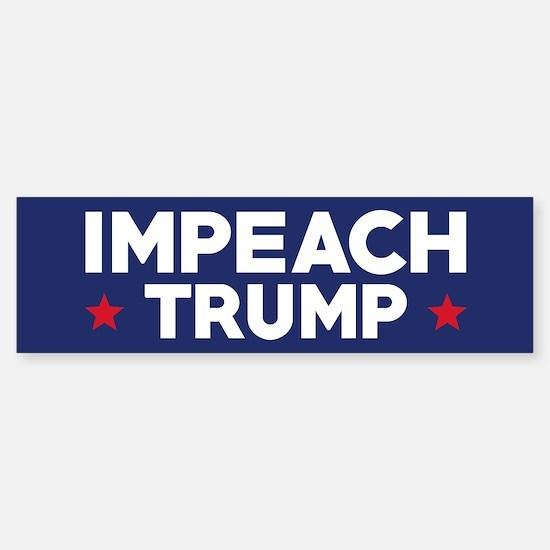 Impeach Trump Bumper Car Car Sticker