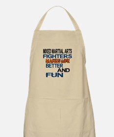 Mixed Martial Arts Fighters Makes Life Bette Apron