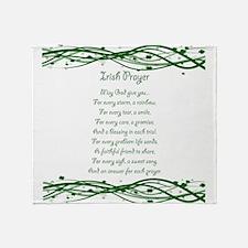 irishprayer.png Throw Blanket