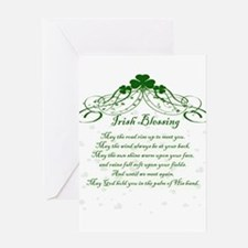 irishblessing.png Greeting Cards