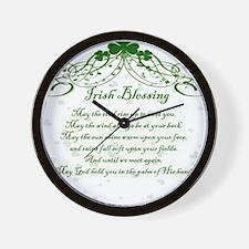 irishblessing.png Wall Clock