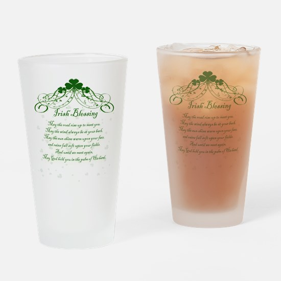 irishblessing.png Drinking Glass