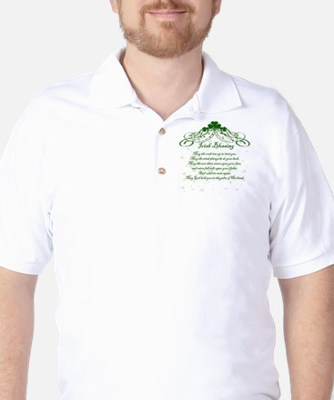 irishblessing.png Golf Shirt