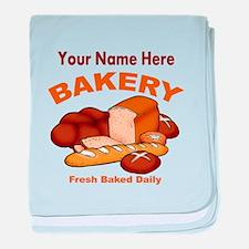 Fresh Baked Bread baby blanket