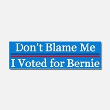 I Voted For Bernie Car Magnet 10 X 3