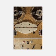 Cute Recording studio Rectangle Magnet