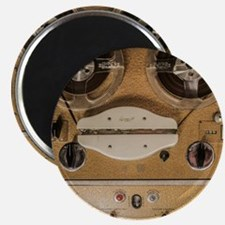 Vintage tape sound recorder reel to reel Magnets