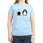 Backwards Penguin Women's Light T-Shirt