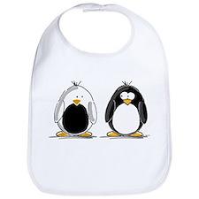 Backwards Penguin Bib