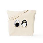 Backwards Penguin Tote Bag