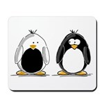 Backwards Penguin Mousepad