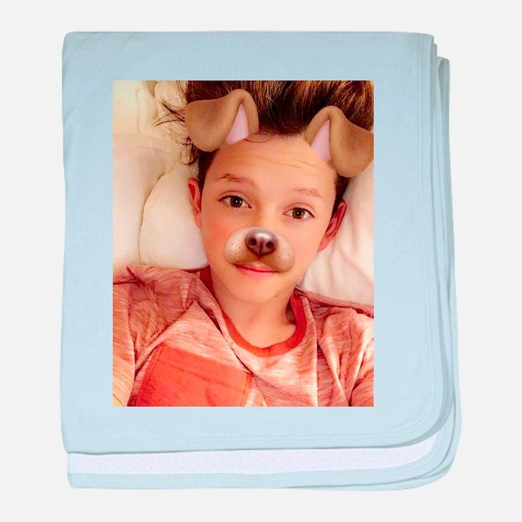 Jacob Sartorius baby blanket