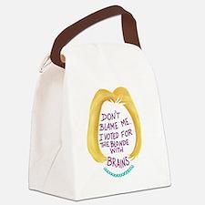 Unique Politics Canvas Lunch Bag