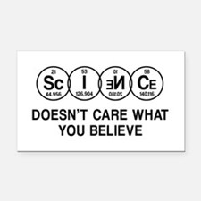 Science Doesn't Care What You Believe. Rectangle C