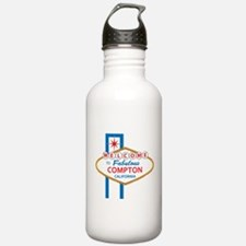 Welcome to Compton.png Water Bottle