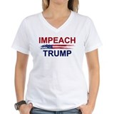 Anti trump Womens V-Neck T-shirts
