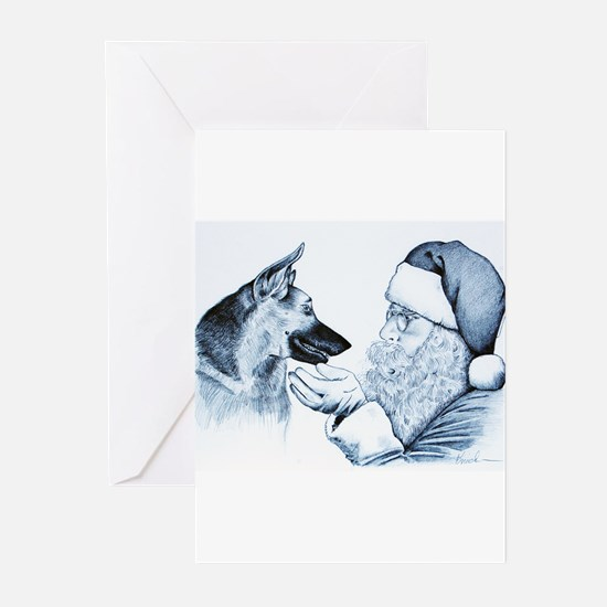 Animal Art Greeting Cards (Pk of 10)