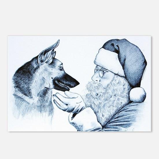 Animal Art Postcards (Package of 8)