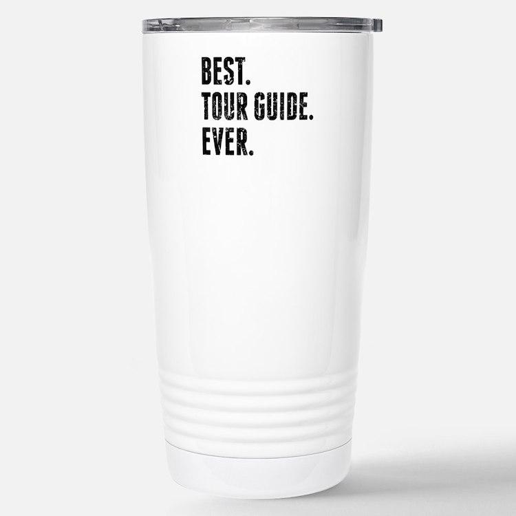 Cute Tour guide Travel Mug