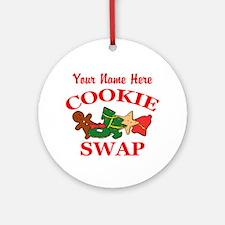 Cookie Swap Round Ornament