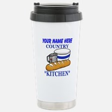 Vintage Country Kitchen Travel Mug