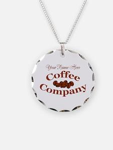 Vintage Coffee Company Necklace