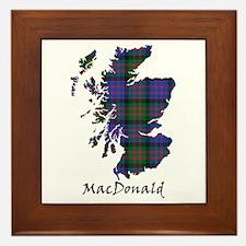 Map - MacDonald Framed Tile