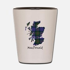 Map - MacDonald Shot Glass