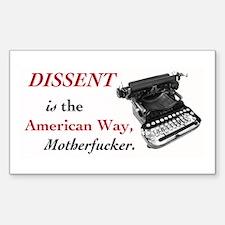dissent_sticker.psd Decal
