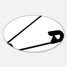 Safety Pin Graphic Decal