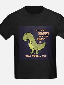 t-rex-clap-2-TIL T-Shirt